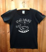 134R T-Shirts Ladies Navy KujiaHawaii