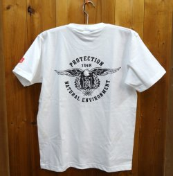 画像1: 134R T-Shirts Eagle T White