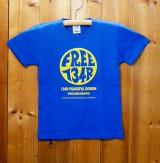 134R T-Shirts Circle Logo Kids BL