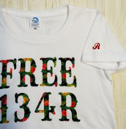 画像3: 134R T-Shirts Ladies white Secret fin flower