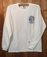 134R Long T-Shirts s Circle Logo WH