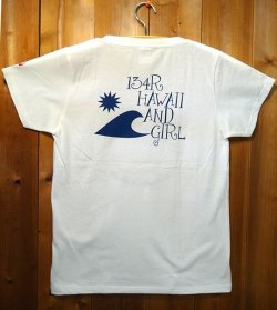 画像2: 134R T-Shirts Ladies white KujiaHawaii