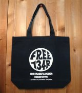 134R  circle campus tote bag ネイビー