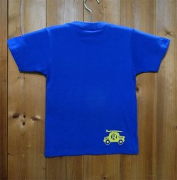 画像2: 134R T-Shirts Kids blue surfcar