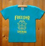 134R T-Shirts front W light blue