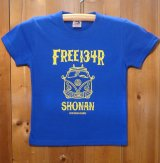 134R T-Shirts front W Blue