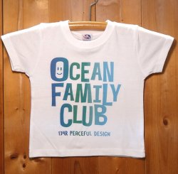 画像1: 134R T-Shirts OFC KIDS BLUE