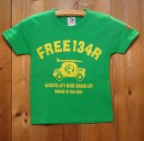 134R T-Shirts Kids green surfcar